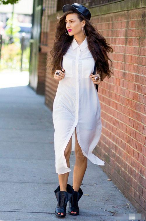 Bạn đã biết cách mặc đồ trắng vừa đẹp lại tinh tế