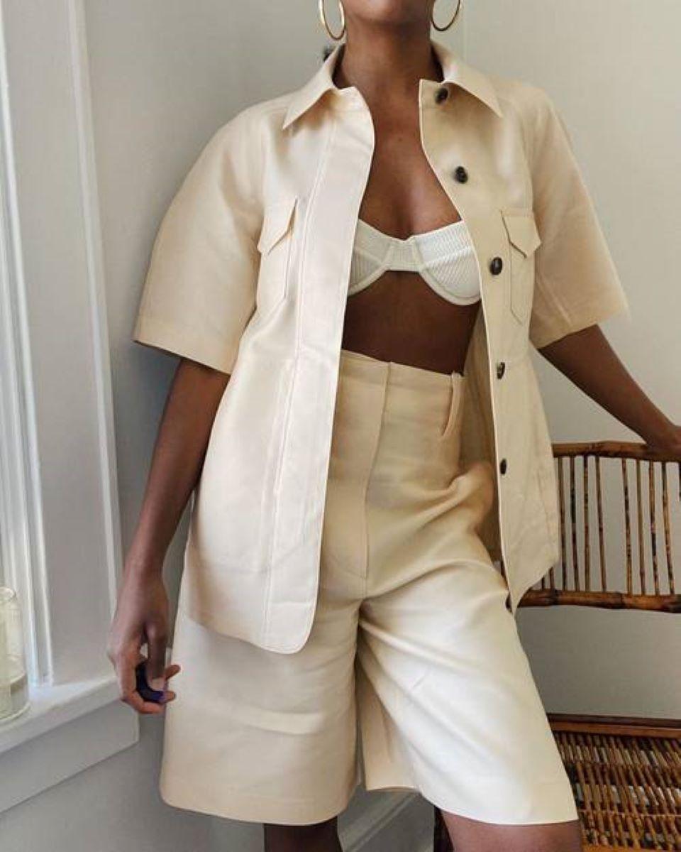 Ý tưởng phối quần Short với áo cho mùa hè năng động