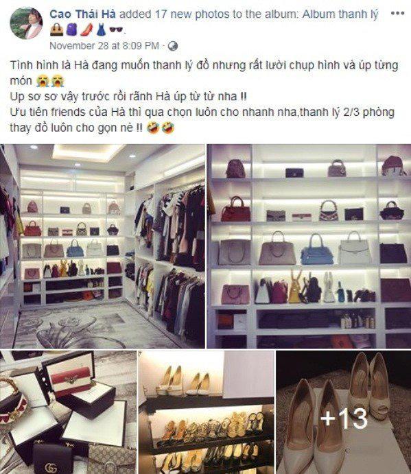 Vung tay sắm đồ hiệu, mỹ nhân Việt cũng có ngày thanh lý: người cần tiền, người không còn chỗ chứa - Ảnh 20.