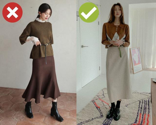4 kiểu trang phục mùa lạnh dễ cộng cho nàng công sở 5 – 7 tuổi, không muốn trông già xọm thì tránh ngay lập tức - Ảnh 2.