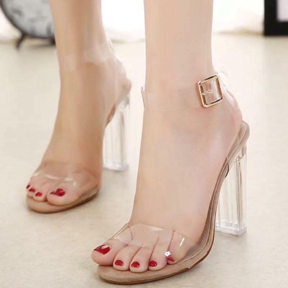 Sandal quai mảnh thời trang thoáng mát cho ngày hè