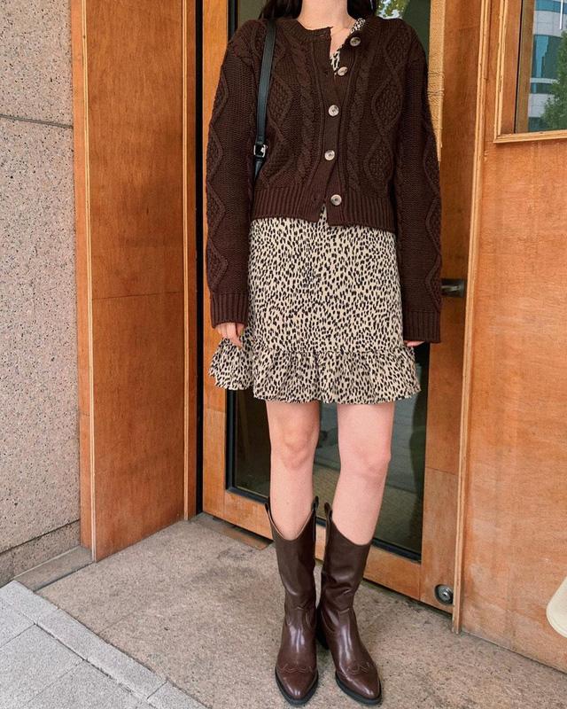 11 công thức váy + boots rõ xinh, các nàng ghim ngay để từ giờ đến cuối năm luôn mặc đẹp - Ảnh 3.