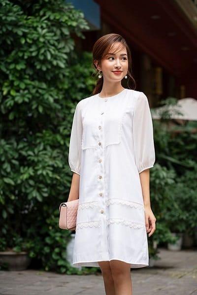 Váy suông luôn là loại trang phục đem lại cảm giác thoải mái cho phái đẹp