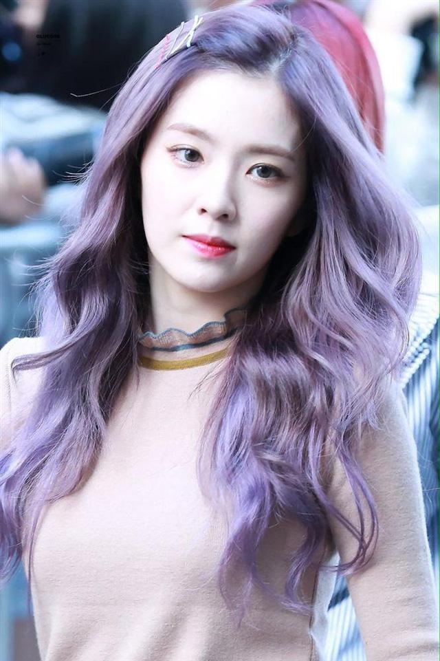 Mỹ Tâm - Hari Won - Quỳnh Anh Shyn đu trend tóc tím lấn át dàn nghệ sĩ Hàn - Ảnh 4.