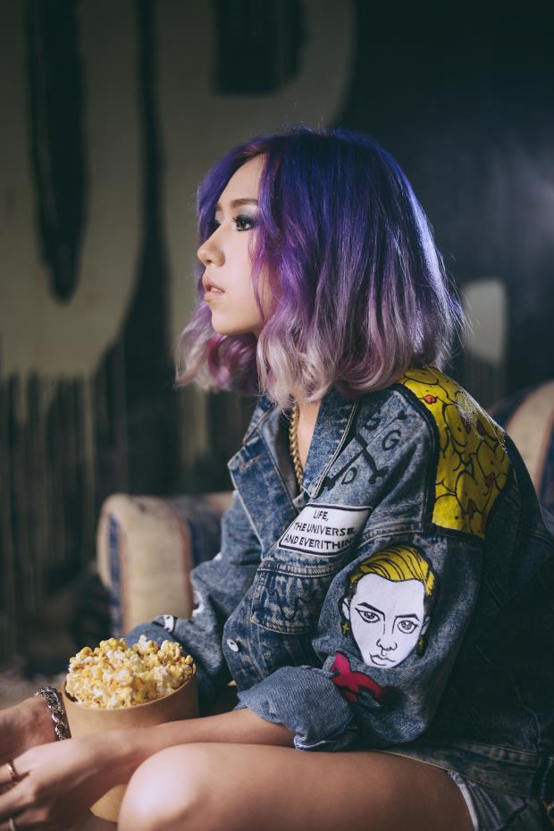 Mỹ Tâm - Hari Won - Quỳnh Anh Shyn đu trend tóc tím lấn át dàn nghệ sĩ Hàn - Ảnh 11.