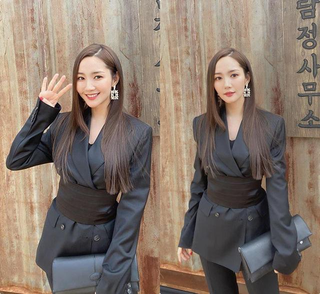 Nhan sắc lên xuống thất thường nhưng gout thời trang công sở 30 của Park Min Young đẹp miễn chê - Ảnh 5.