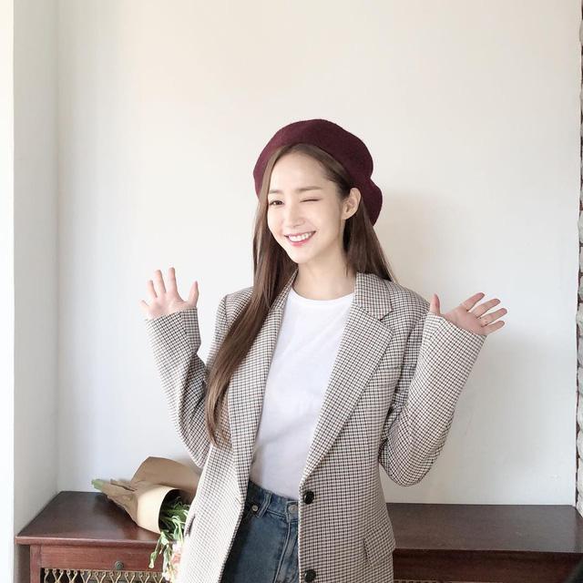 Nhan sắc lên xuống thất thường nhưng gout thời trang công sở 30 của Park Min Young đẹp miễn chê - Ảnh 6.