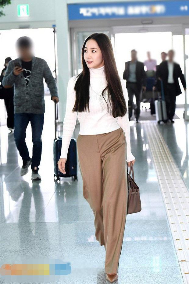 Nhan sắc lên xuống thất thường nhưng gout thời trang công sở 30 của Park Min Young đẹp miễn chê - Ảnh 12.