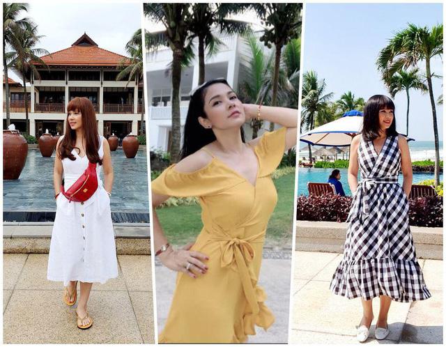 Ngược đời như Việt Trinh: Thời trẻ mê mặc kín, đến tuổi U50 lại chăm diện hở - Ảnh 7.