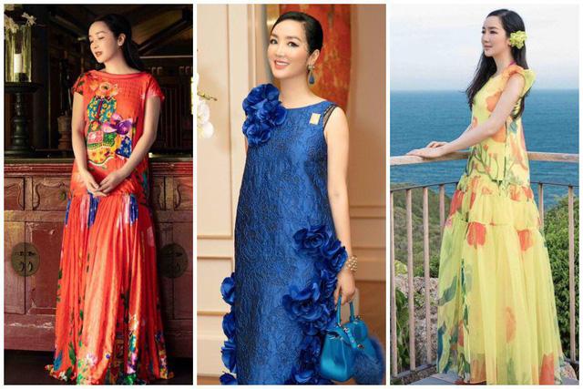 Ngược đời như Việt Trinh: Thời trẻ mê mặc kín, đến tuổi U50 lại chăm diện hở - Ảnh 9.