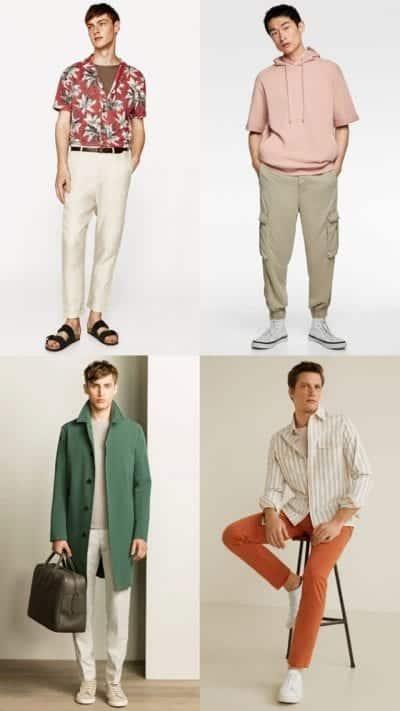 Mix & match màu trung tính với màu nóng hoặc màu lạnh là một trong những cách phối màu trang phục đơn giản nhất.