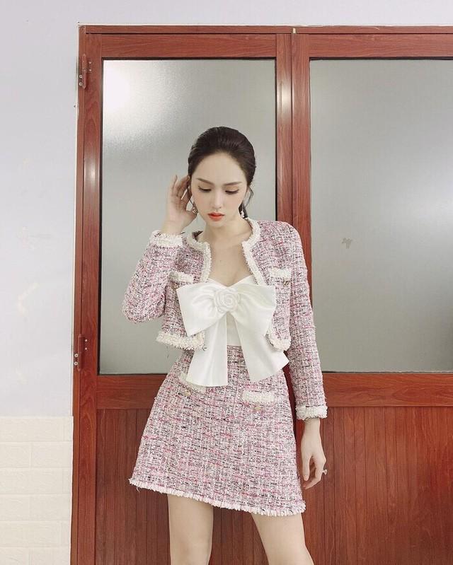 Sở hữu tủ đồ hiệu khủng nhưng Hương Giang vẫn nhiều lần bị nghi dùng hàng nhái - Ảnh 3.
