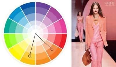 Chọn các màu sắc liền kề nhau, có sự tương đồng về gam màu để phối trang phục
