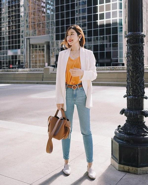 Sao Hàn diện kiểu quần jeans tưởng lỗi mốt mà vẫn đẹp lạ, nàng nhìn là muốn học theo ngay - 10