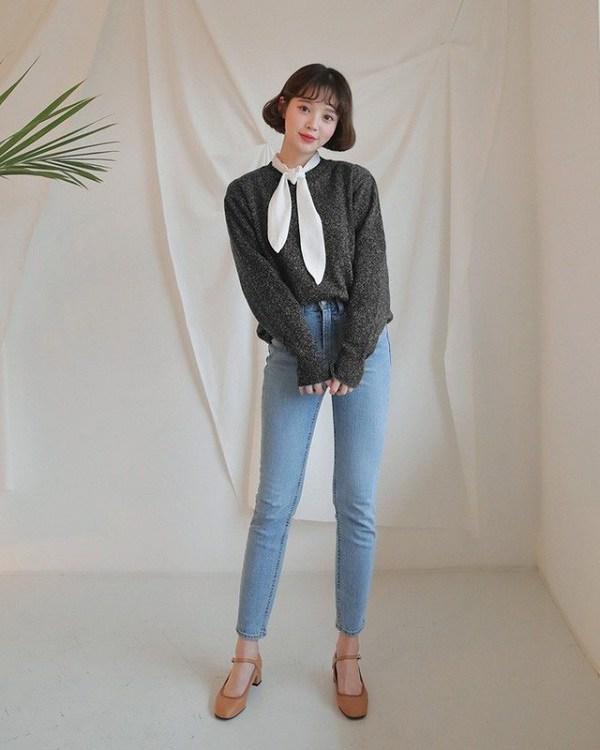 Sao Hàn diện kiểu quần jeans tưởng lỗi mốt mà vẫn đẹp lạ, nàng nhìn là muốn học theo ngay - 13