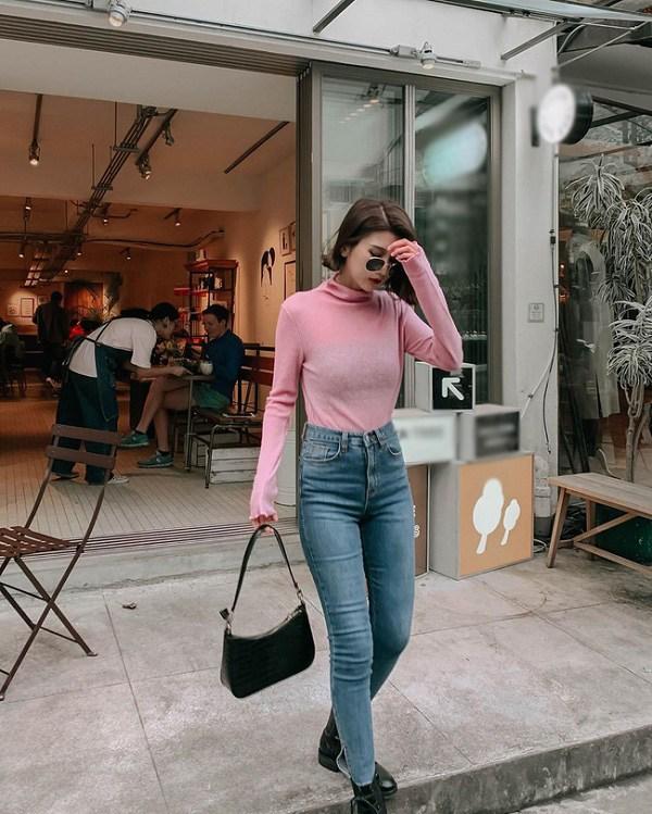 Sao Hàn diện kiểu quần jeans tưởng lỗi mốt mà vẫn đẹp lạ, nàng nhìn là muốn học theo ngay - 14