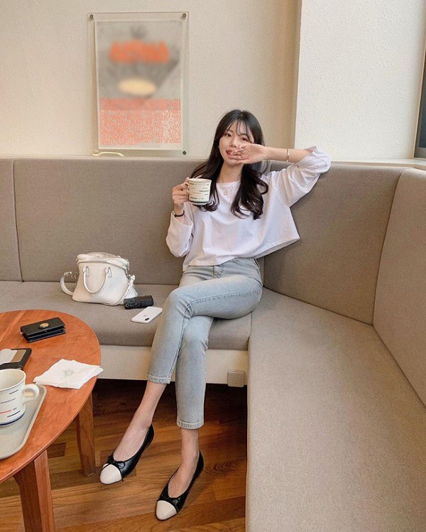 Sao Hàn diện kiểu quần jeans tưởng lỗi mốt mà vẫn đẹp lạ, nàng nhìn là muốn học theo ngay - 15