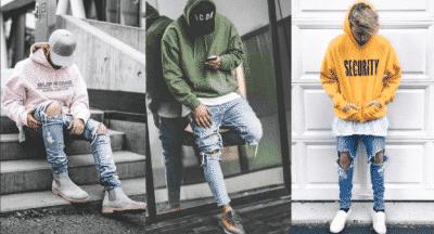 Mới lạ, trẻ trung cùng cách phối áo Hoodie với quần jeans bụi bặm