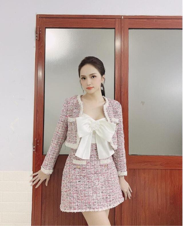 Sở hữu tủ đồ hiệu khủng nhưng Hương Giang vẫn nhiều lần bị nghi dùng hàng nhái - Ảnh 1.