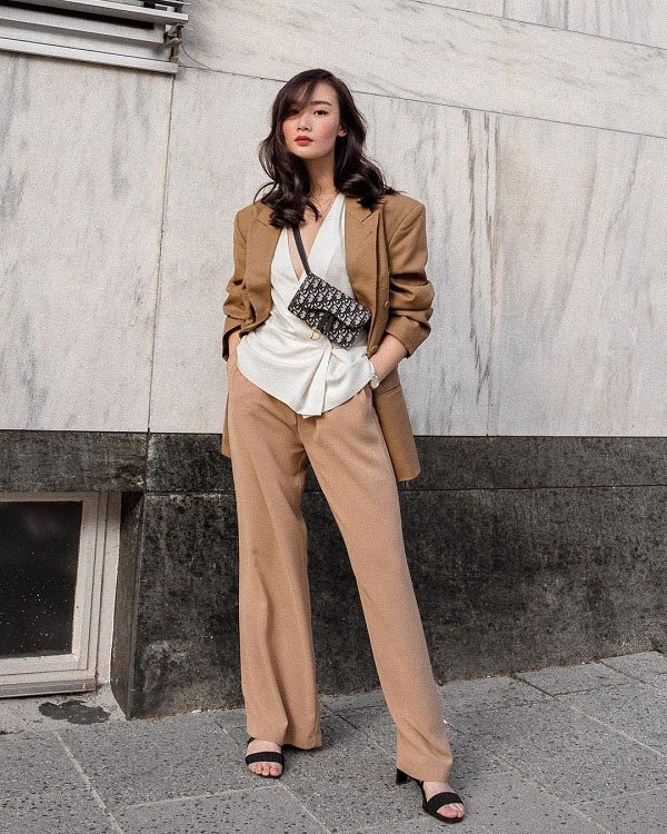 Kết hợp blazer với 4 kiểu áo này, nàng mặc đơn giản mấy cũng đẹp bất chấp trong mùa lạnh - 6