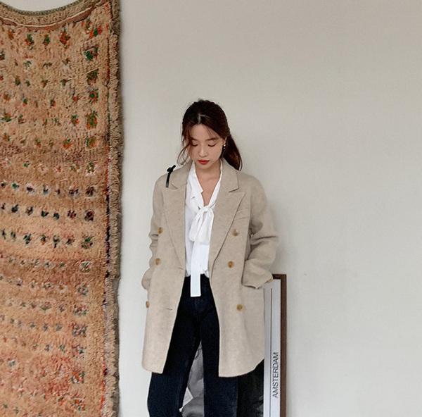 Kết hợp blazer với 4 kiểu áo này, nàng mặc đơn giản mấy cũng đẹp bất chấp trong mùa lạnh - 9