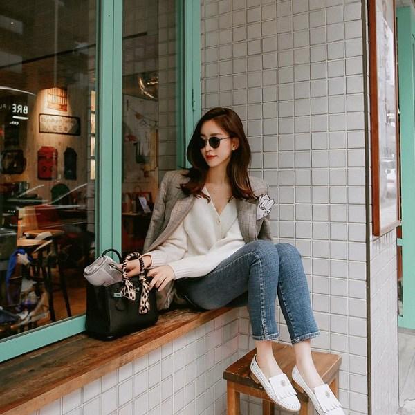 Kết hợp blazer với 4 kiểu áo này, nàng mặc đơn giản mấy cũng đẹp bất chấp trong mùa lạnh - 12
