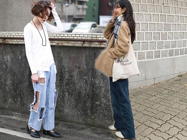 Cứ diện những kiểu quần jeans lỗi mốt này, nàng vừa già chát vừa bị lộ nhược điểm vóc dáng