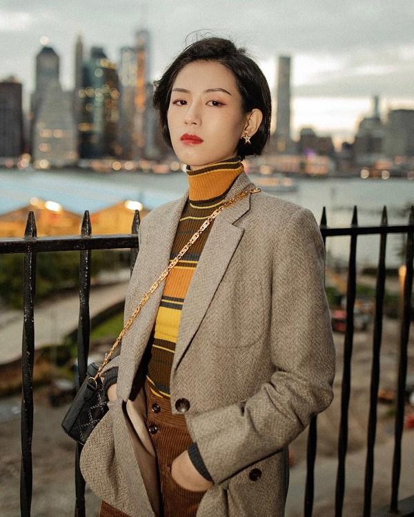 Kết hợp blazer với 4 kiểu áo này, nàng mặc đơn giản mấy cũng đẹp bất chấp trong mùa lạnh - 1