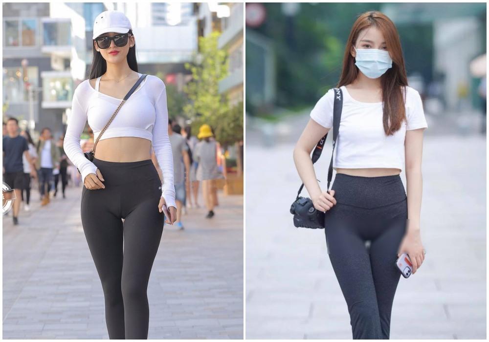 """Chiếc quần """"thị phi"""" nhất2020 là quần bó chẽn: không chỉ hotgirl, đến Hoa hậu cũng khó mặc đẹp - 1"""
