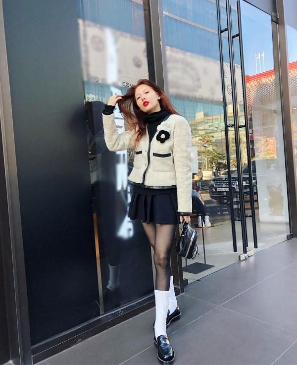"""Ăn mặc xuề xòa khó hiểu, """"nữ hoàng gợi cảm"""" xứ Hàn đánh mất danh hiệu biểu tượng thời trang - 4"""