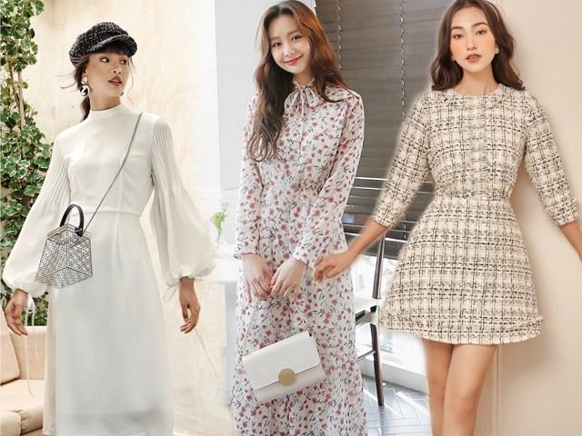 Chẳng cần sắm đồ mới, nàng diện lại mấy mẫu váy liền này là vẫn hợp mốt trong năm 2021