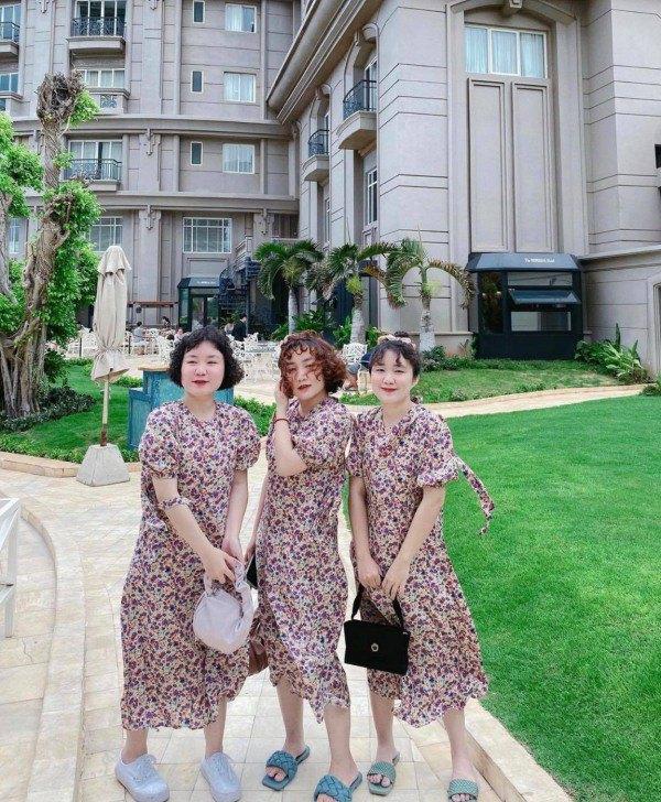 MXH xuất hiện 3 chị em sinh ba mặc váy trắng làm phụ dâu, soi style ngày thường càng mê - 5