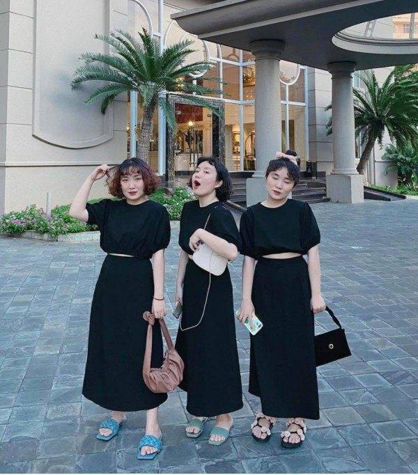 MXH xuất hiện 3 chị em sinh ba mặc váy trắng làm phụ dâu, soi style ngày thường càng mê - 6