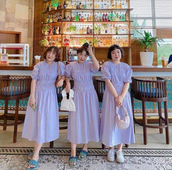 MXH xuất hiện 3 chị em sinh ba mặc váy trắng làm phụ dâu, soi style ngày thường càng mê - 7