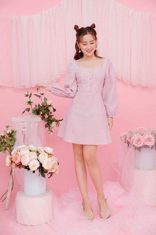 Chẳng cần sắm đồ mới, nàng diện lại mấy mẫu váy liền này là vẫn hợp mốt trong năm 2021 - 5