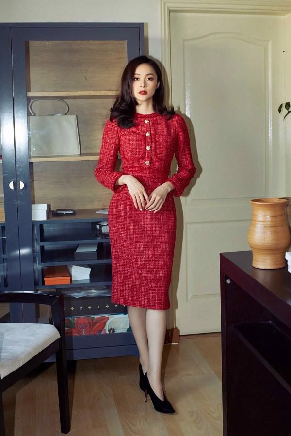 Chẳng cần sắm đồ mới, nàng diện lại mấy mẫu váy liền này là vẫn hợp mốt trong năm 2021 - 6