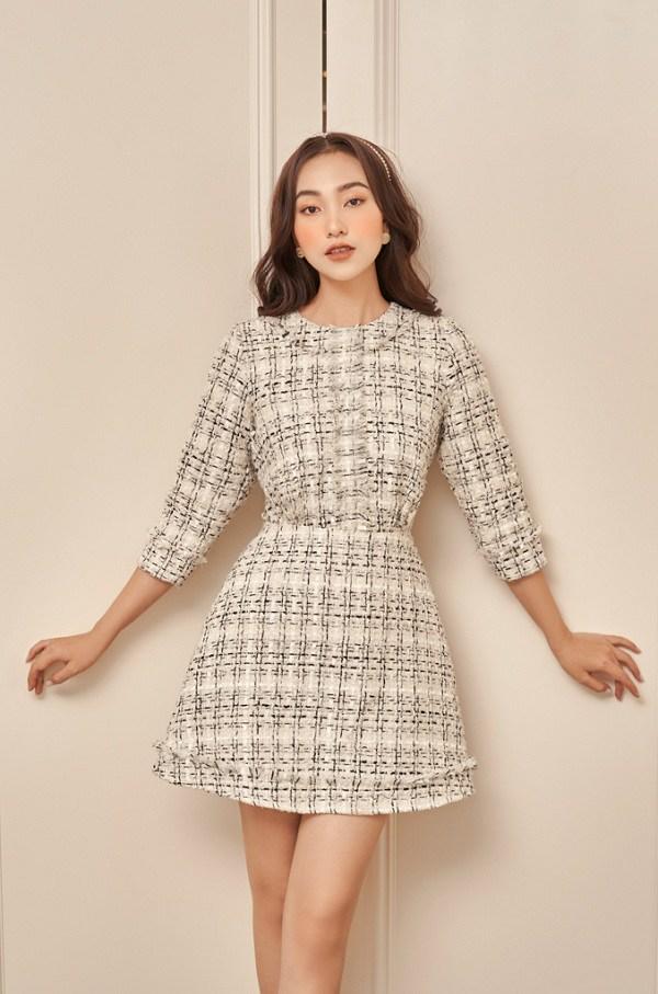Chẳng cần sắm đồ mới, nàng diện lại mấy mẫu váy liền này là vẫn hợp mốt trong năm 2021 - 8