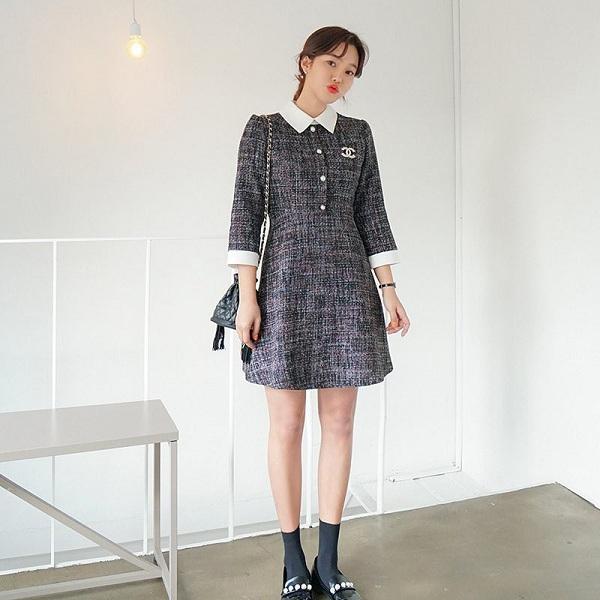 Chẳng cần sắm đồ mới, nàng diện lại mấy mẫu váy liền này là vẫn hợp mốt trong năm 2021 - 9