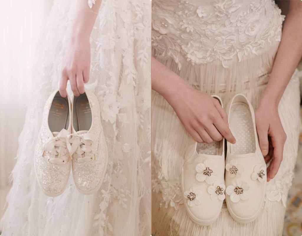 Từ món thời trang bị chê không hợp, giày sneakers giờ là amp;#34;bá chủamp;#34; tại lễ cưới hỏi - 15