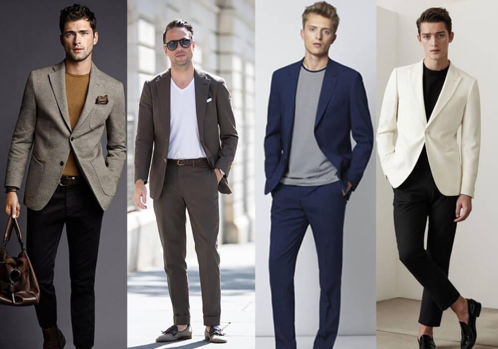 Hiện nay, vest được diện với nhiều phong cách đa dạng, phá cách hơn| Đàn ông mặc vest mang giày gì đẹp?