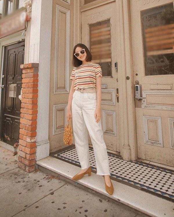 Những mẫu quần trắng tôn dáng lại dễ phối đồ, nàng diện đi chơi dịp lễ là chuẩn xinh - 6