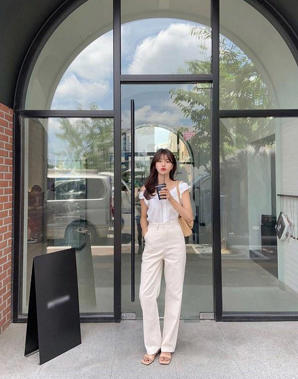 Những mẫu quần trắng tôn dáng lại dễ phối đồ, nàng diện đi chơi dịp lễ là chuẩn xinh - 7