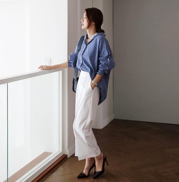 Những mẫu quần trắng tôn dáng lại dễ phối đồ, nàng diện đi chơi dịp lễ là chuẩn xinh - 15