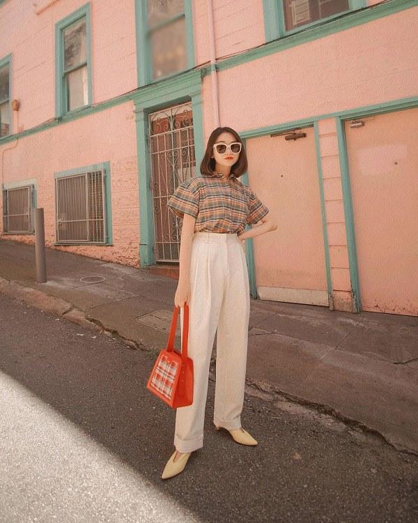 Những mẫu quần trắng tôn dáng lại dễ phối đồ, nàng diện đi chơi dịp lễ là chuẩn xinh - 14