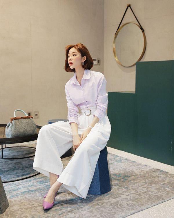 Những mẫu quần trắng tôn dáng lại dễ phối đồ, nàng diện đi chơi dịp lễ là chuẩn xinh - 16
