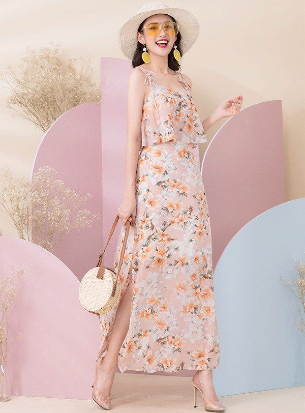 4 mẫu váy hai dây vừa xinh vừa mát, các nàng sắm nhanh còn kịp kỳ nghỉ lễ - 16
