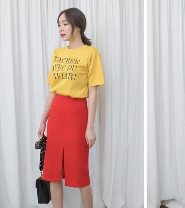 5 kiểu chân váy cứ diện cùng áo phông là đẹp mê, nàng lưu ngay để style thêm sành điệu - 4