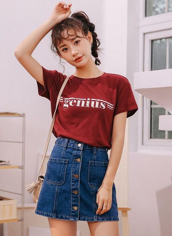 5 kiểu chân váy cứ diện cùng áo phông là đẹp mê, nàng lưu ngay để style thêm sành điệu - 6