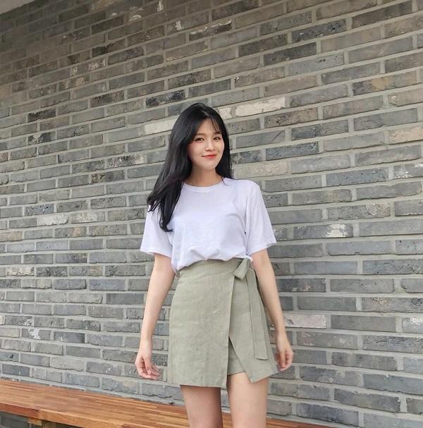 5 kiểu chân váy cứ diện cùng áo phông là đẹp mê, nàng lưu ngay để style thêm sành điệu - 10