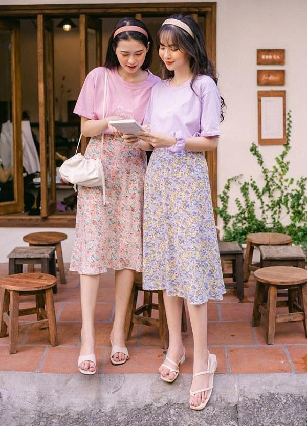5 kiểu chân váy cứ diện cùng áo phông là đẹp mê, nàng lưu ngay để style thêm sành điệu - 11